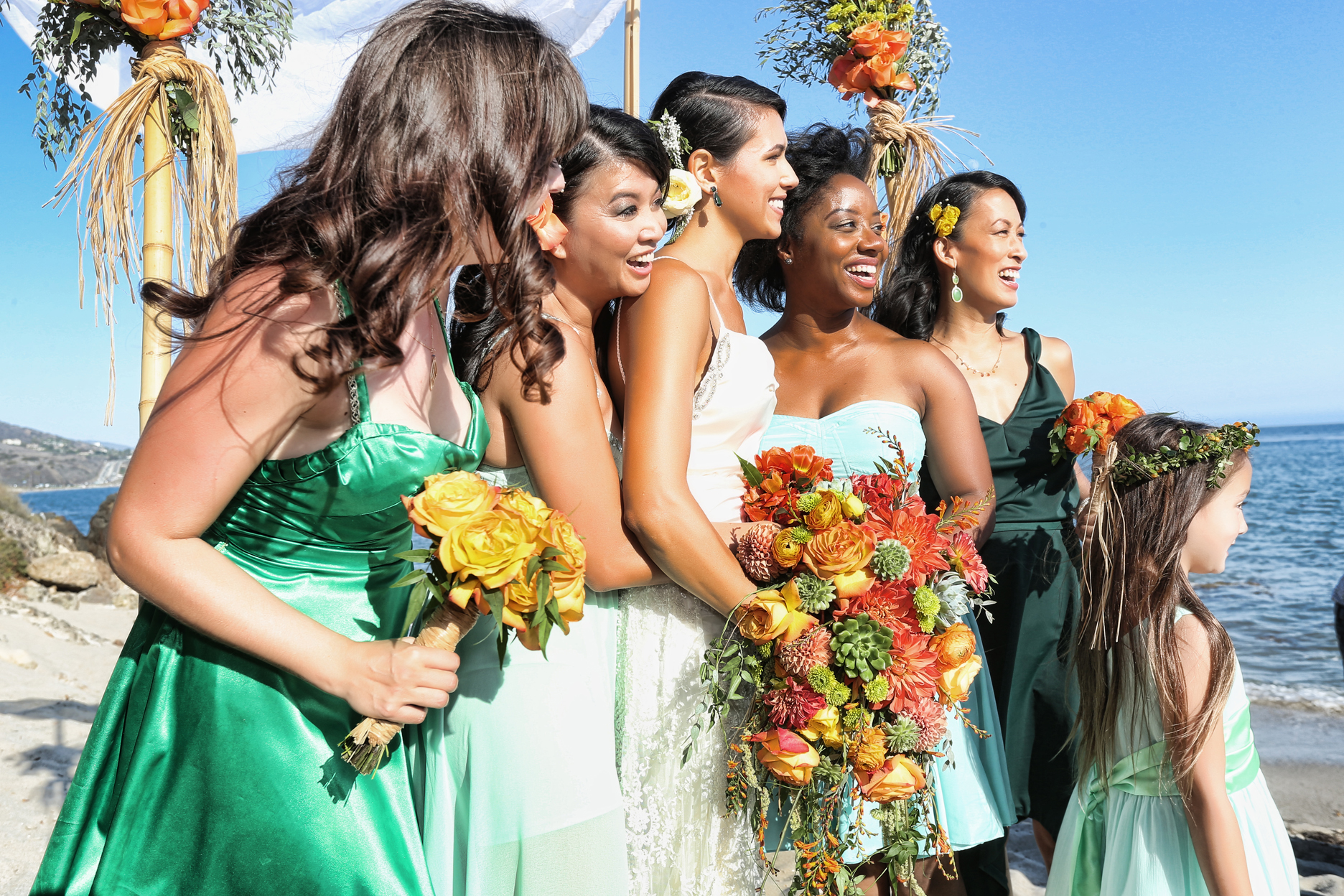 Nicole Alexandra Designs - Megan and Sammy's Malibu Wedding